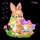 Великдендко зайче и пиленце
