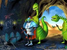 карикатури с дракони
