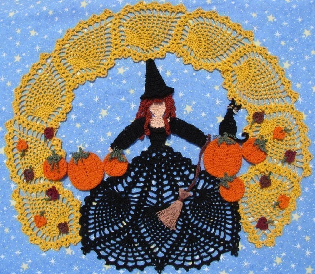 хелоуин плетиво