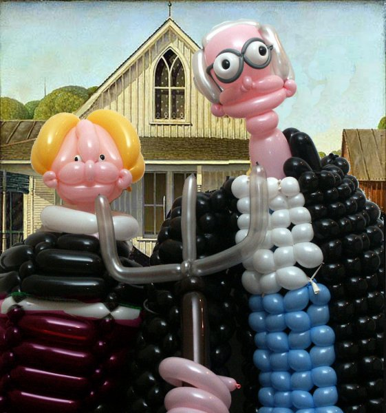 Изкуство с балони