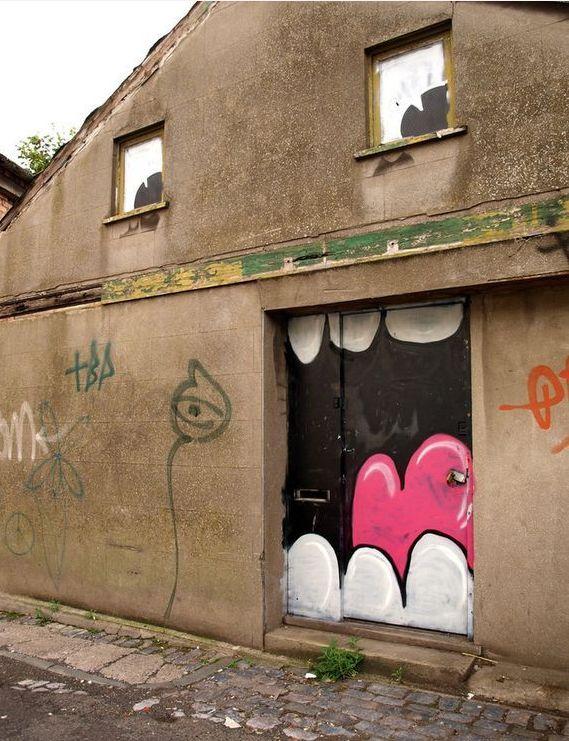емотикони по сградите
