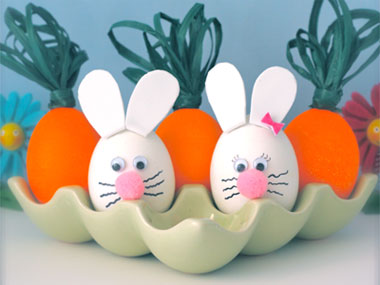 яйца зайчета
