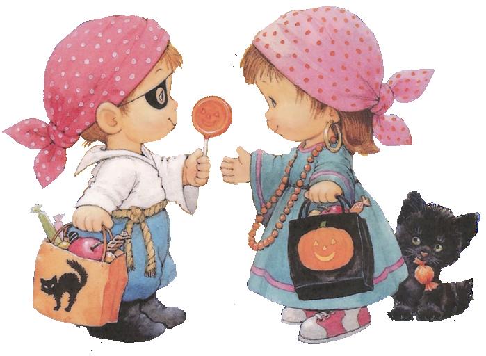 деца на хелоуин